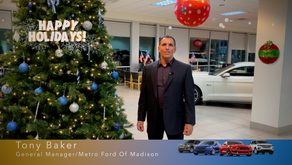 Happy Holidays from Metro Ford Of Madison