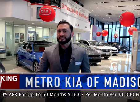 Breaking News From Metro Kia of Madison