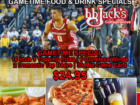 GameTime Food Special @BBJacksCG Today!