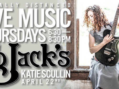 Live Music 🎶 Katie Scullin Performing Live