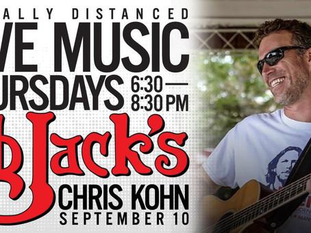 Chris Kohn Performing Live 9/10/2020