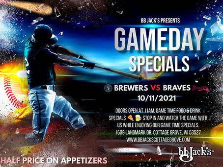 Brewers Vs Braves Today @BBJacksCG