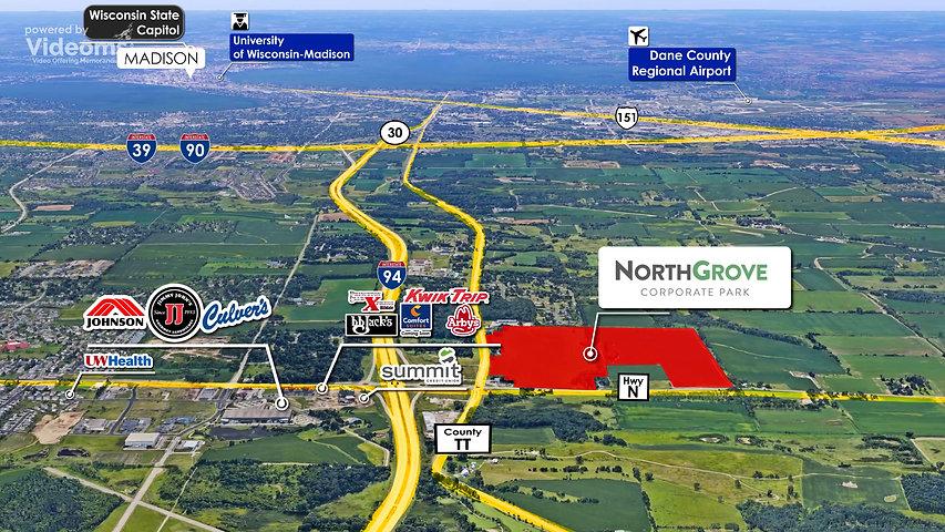 NorthGrove Corporate Park. Local Map_00_