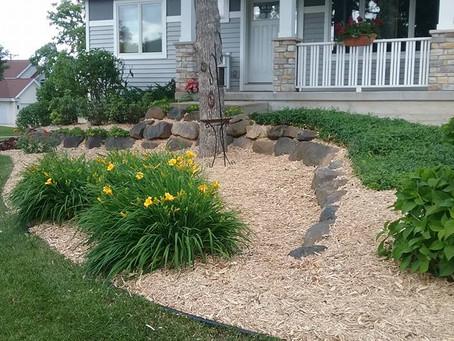 April Landscaping Work 2020