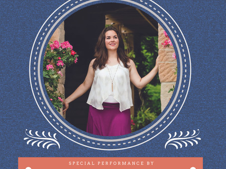 Music On The Patio With Clarisse Tobia  9/20/20