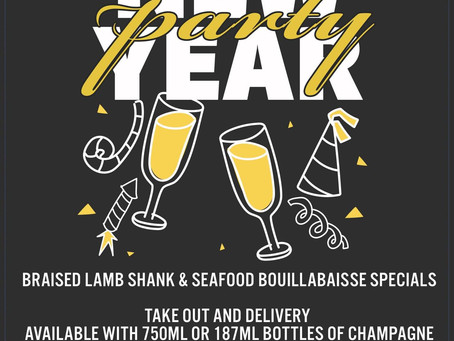 New Year's Eve Specials!