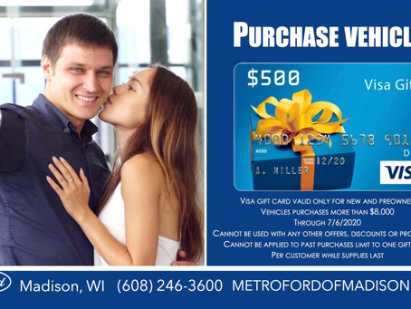 Metro Ford Of Madison June Vehicle Specials