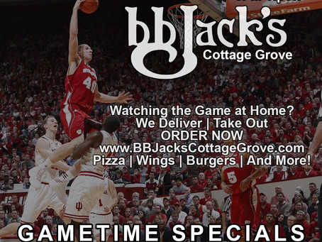 Badgers Basketball Tonight At Bb Jack's Cottage Grove