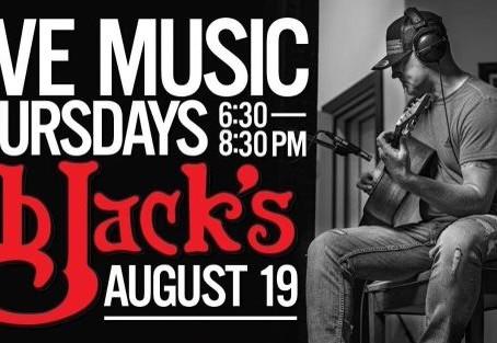 Live Music @BBJack's CG  8/19/21