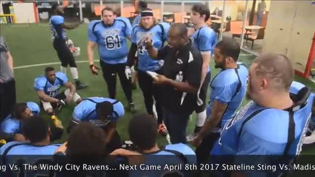 Stateline Sting Vs. The Windy City Ravens (live stream footbal...