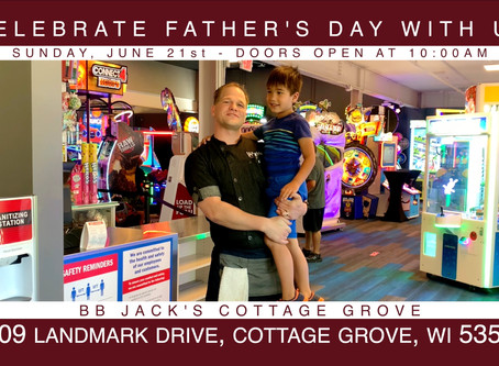 Celebrate Father's Day At BB Jack's Cottage Grove