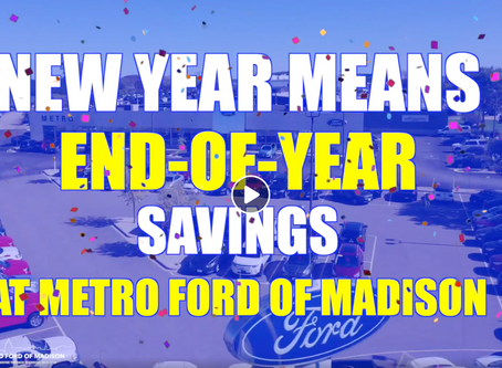 Metro Ford Of Madison I New Year End Of The Year SavingsI Wisconsin