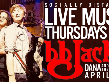 Live Music 4/29/21 @BB Jack's CG 6:30pm-8:30pm