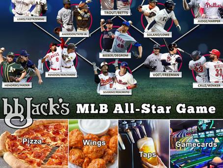 MLB All-Star Game Tonight at BB JACKS CG