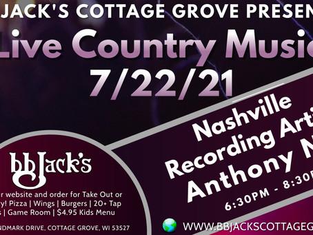 Anthony Nix Performing Live 7/22/21