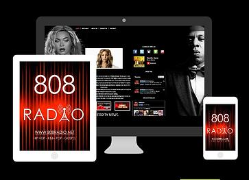 808 Radio on electronic devices image