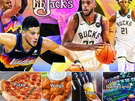 Bucks vs Suns Game 3 @BBJacksCG