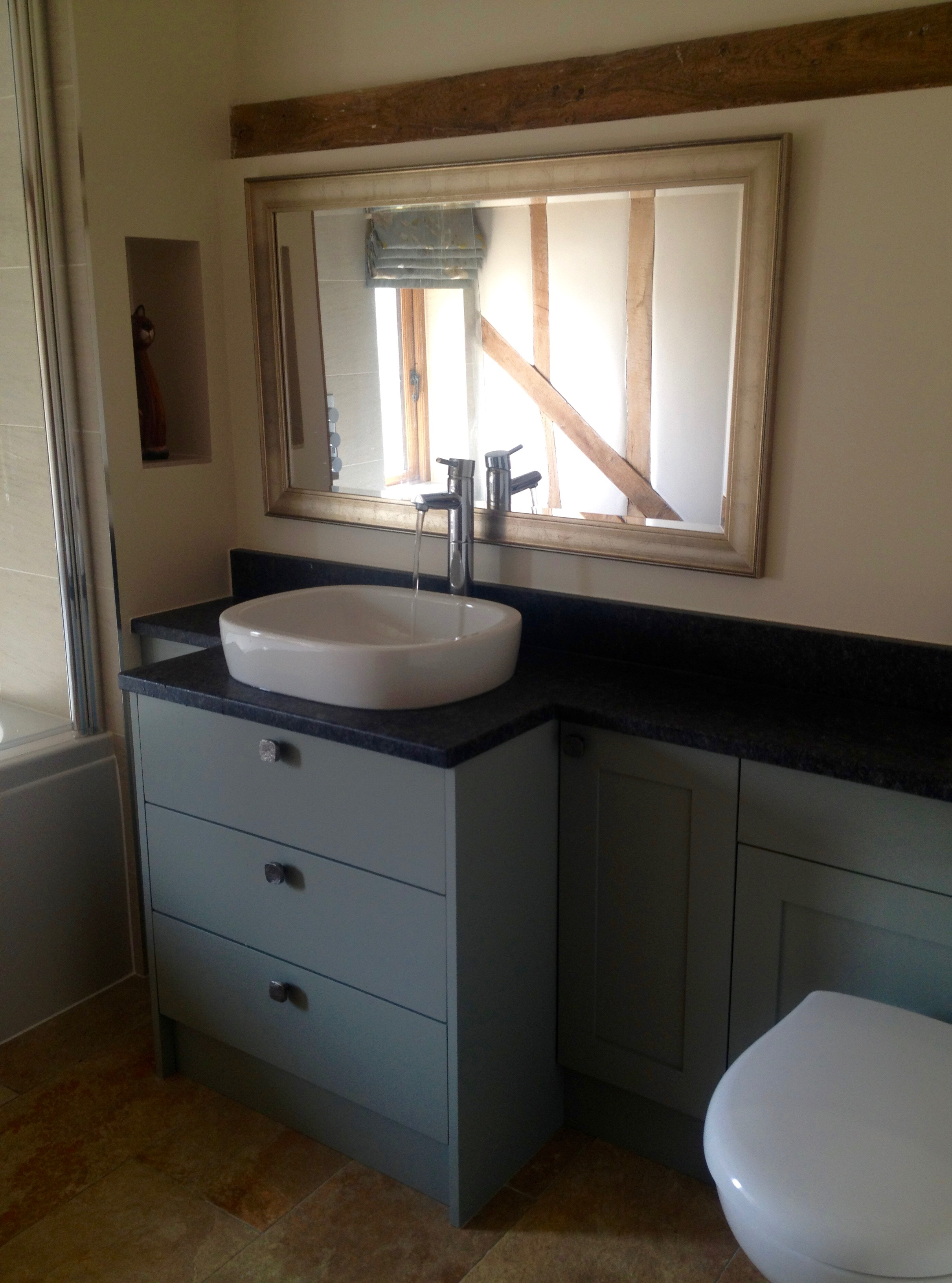 Bespoke bathroom furniture Suffolk