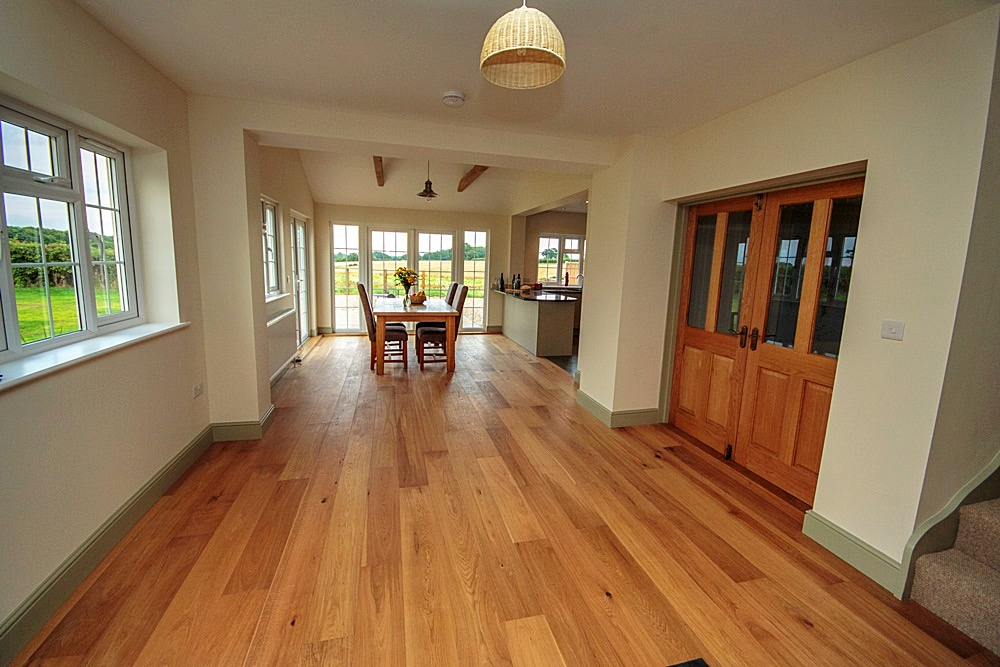 Oak Flooring Installation Suffolk