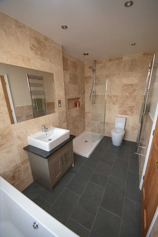Natural Stone Bathroom Suffolk