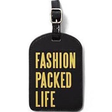 Limited Edition Fashion Luggage Tag