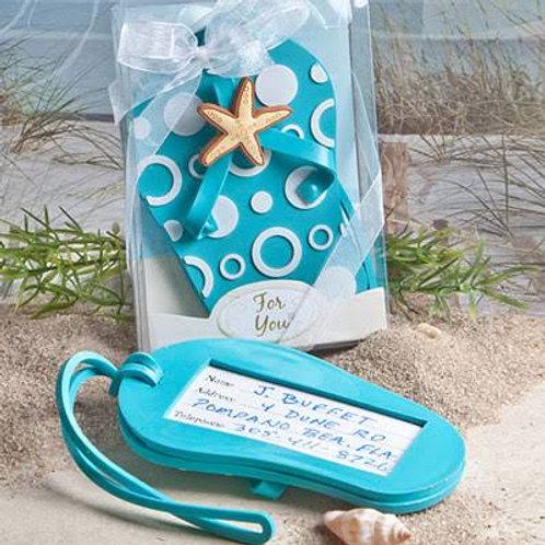 Beach Sandal Souvenir  Luggage Tag
