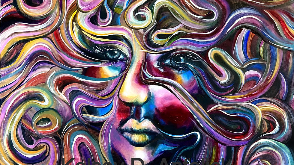 Nightly Dissolve-Fine Art Print