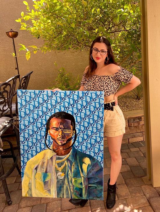 Kelsey D. Antolick, fine artist