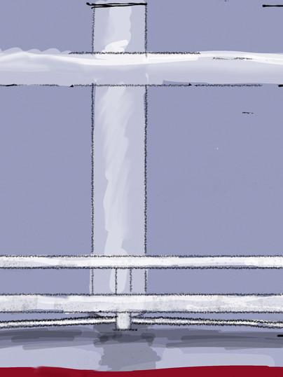 Rendering of side view