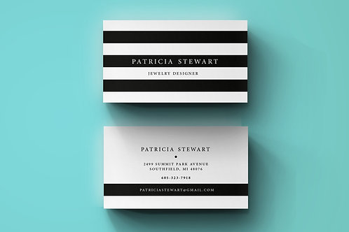 Premade Premium Business Card Package