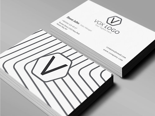Premade Simple Corporate Business Card Pack