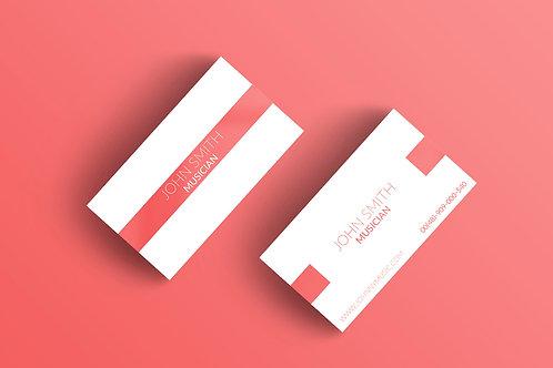 Premade Modern Business Card Pack 1