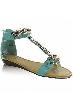 Beauty Masterpiece Low Sandals, Accessories, London luxury online retailer, jewellery, lingerie, fashion, hair
