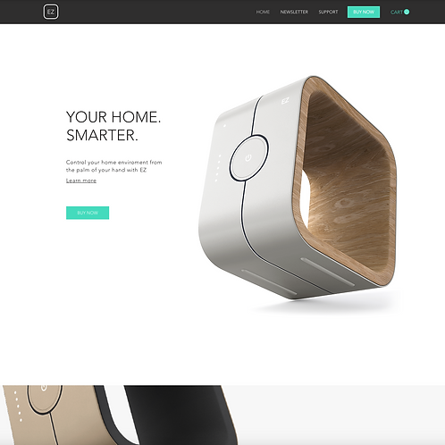 Premade Home Tech Store Web Design Package
