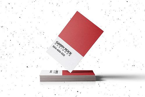 Premade Pantone Business Card Pack