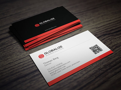 Premade Corporate Business Card Package 4