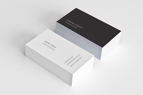 Premade Clean Business Card Package 2