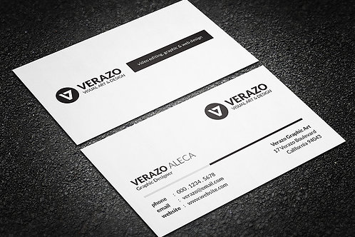 Premade Clean Business Card Package 3