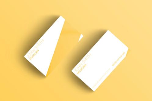 Premade modern business card pack 3 colourmoves