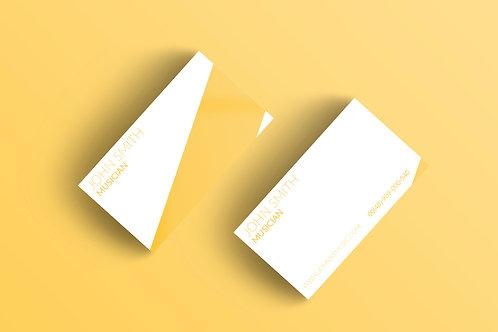 Premade Modern Business Card Pack 3