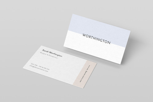 Premade modern business card package colourmoves