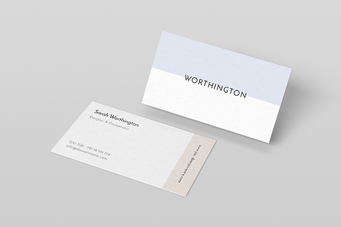 Premade Modern Business Card Package