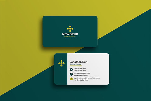 Premade Corporate 2 Business Card Pack