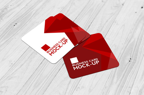 Premade square pattern business card pack home colourmoves