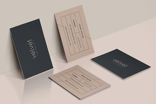 Premade Creative Business Card Package