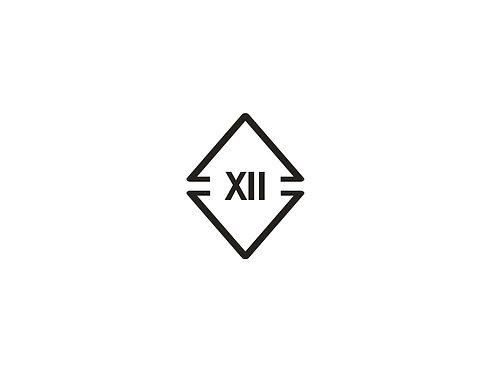 Roman Numerial 12 Logo