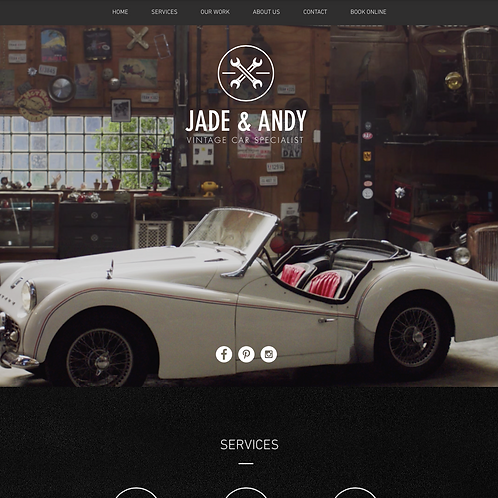 Premade Automotive Specialist Web Design Package