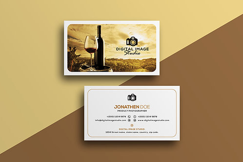 Premade Photography Business Card Pack