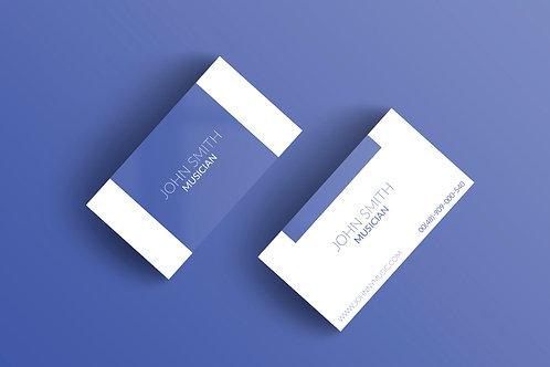 Premade Modern Business Card Pack 2