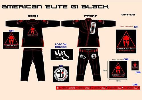 American Elite Logo Gi's